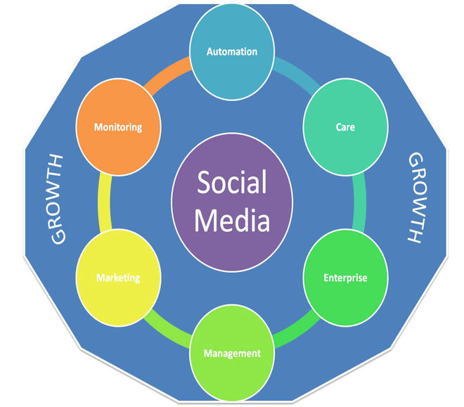 growth with social media